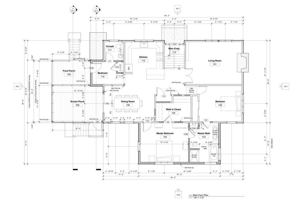 Construction plans and documents